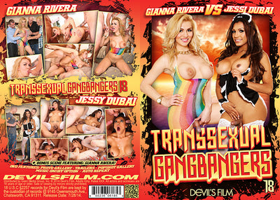 Transsexual Gang Bangers 18 Devils - Shemale Sealed DVD