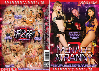 Menage A Tranny 2 Devils - 2018 Sealed DVD