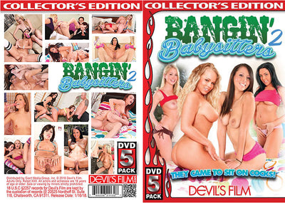 Bangin' Babysitters 2 (5 Disc Set) devils 5 pack Sealed DVD
