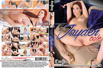 Aunt Judy's Presents Jayden Cole AMK Empire - Amateur Sealed DVD