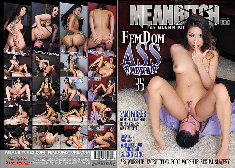 FemDom Ass Worship #35 - Meanbitch Sealed DVD