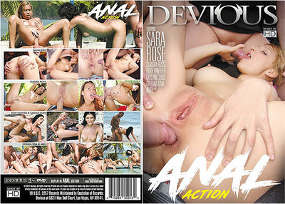 Anal Action 1 Devious - (Anal) Sealed DVD