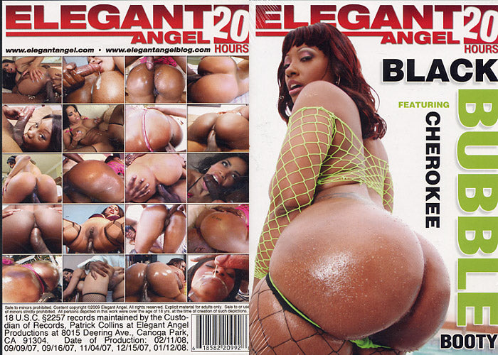 Black Bubble Booty 1 (5 Disc Set) - Elegant Angel - 20 Hrs - Sealed DVD