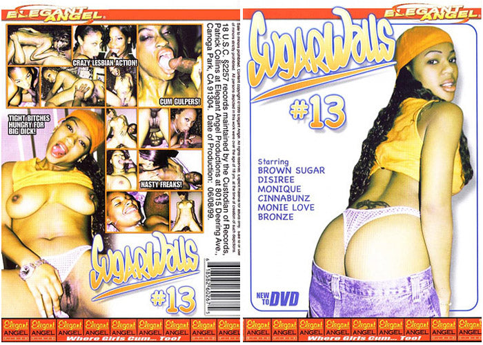 Sugarwalls 13 Elegant Angel Sealed DVD