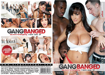 Gangbanged 1 Elegant Angel - Sealed DVD
