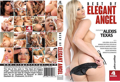 Best Of Elegant Angel 1 Elegant Angel 4 Hrs (riley reid) Sealed DVD