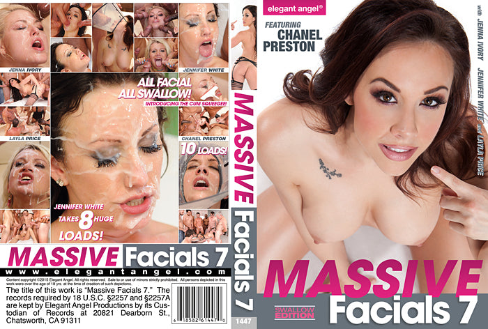 Massive Facials #7 - Elegant Angel Sealed DVD