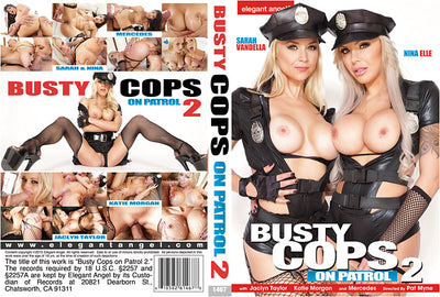Busty Cops On Patrol 2, Elegant Angel - 2015 Sealed DVD