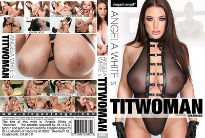 Angela White Is Titwoman Elegant Angel Sealed DVD