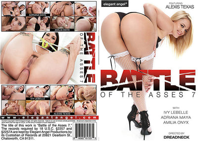 Battle Of The Asses 7, Elegant Angel 17, 18 Sealed DVD