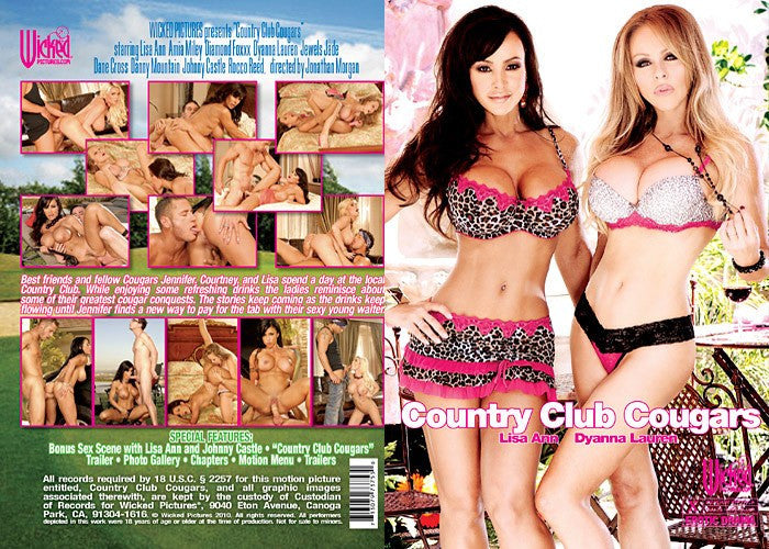 Country Club Cougar (lisa ann) Wicked DVD