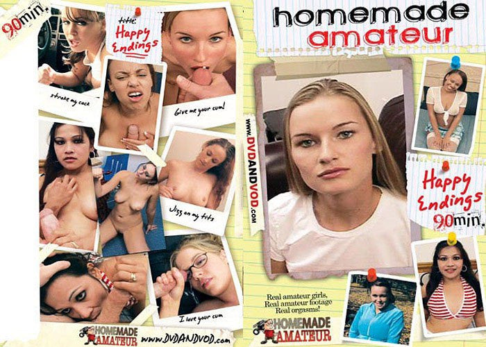 Happy Endings #1 - Homemade Amateurs Adult XXX DVD