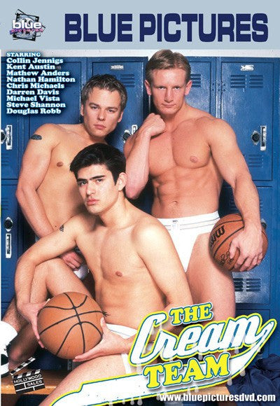 The Cream Team - Blue Productions Gay DVD