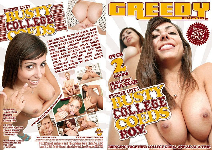 Busty College Coeds POV #1 - New Sensations Sealed DVD
