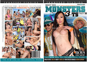 Meet The Monsters Trans 500 - Tranny Sealed DVD