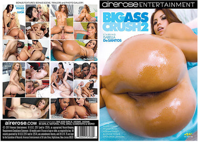 Big Ass Crush 2 Airerose - 2017 Sealed DVD