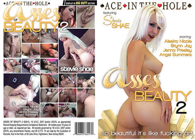 Asses Of Beauty 2 Ace In The Hole - Sealed DVD
