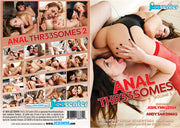 Anal Threesomes 2 Jizz Center -  (MFF Threesome) Sealed DVD