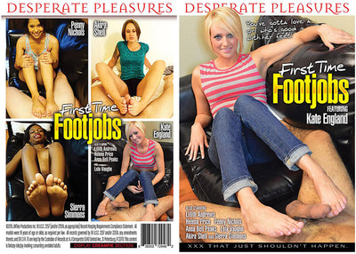 First Time Footjobs 1 - Desperate Pleasures - Taboo Sealed DVD