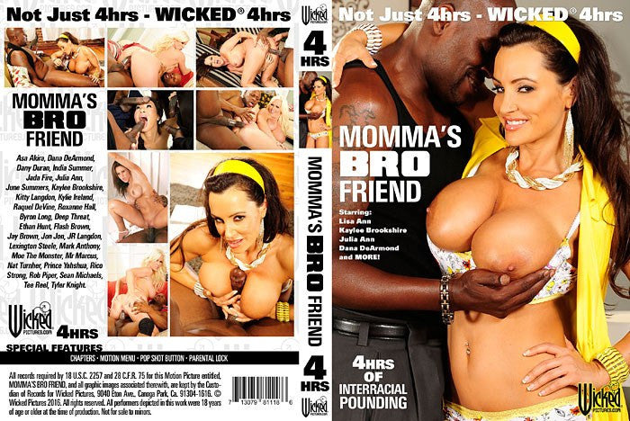 Mommas Bro Friend 4 hour (lisa ann) Wicked DVD