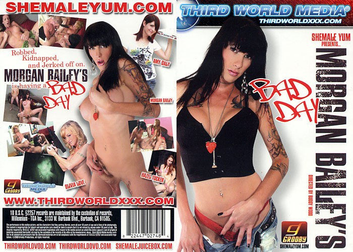 Morgan Baileys Bad Day Third World Media Sealed Transsexual DVD