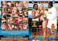 I Love Black Dick #3 - Mayhem Adult XXX Sealed DVD