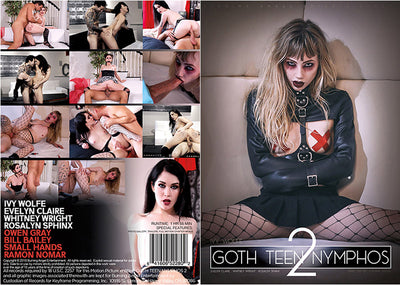 Goth Teen Nymphos 2 Burning Angel - New Sealed DVD