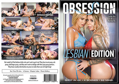 Lesbian Edition 1 Obsession - Romance Sealed DVD