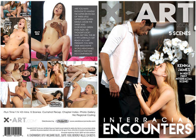 Interracial Encounters XArt - New Sealed DVD