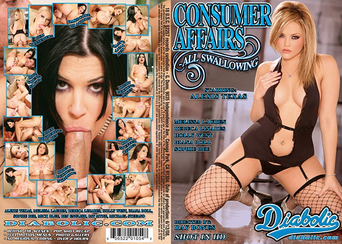 Consumer Affairs #1 - All Swallowing - Diabolic Sealed DVD