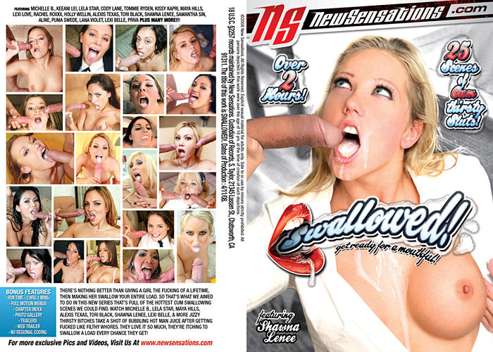 Swallowed - New Sensations Sealed DVD