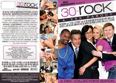 30 Rock: A XXX Parody (2 Disc Set) - NSDS - Parody Sealed DVD