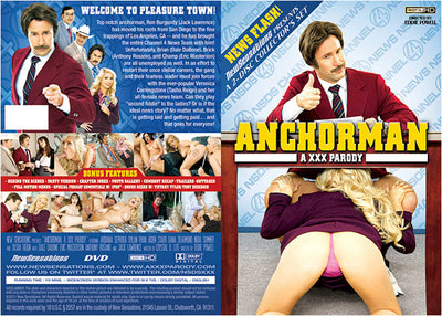 Anchorman: A XXX Parody (2 Disc Set) NSDS - Parody Sealed DVD