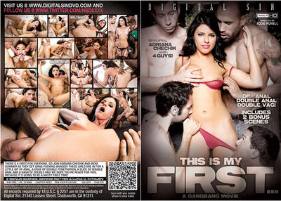 This Is My First: A Gangbang Movie NSDS - Gangbang (gangbang) Sealed DVD
