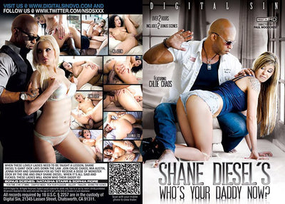 Shane Diesel's Who's Your Daddy Now? #1 - Digital Sin - 2014 Sealed DVD