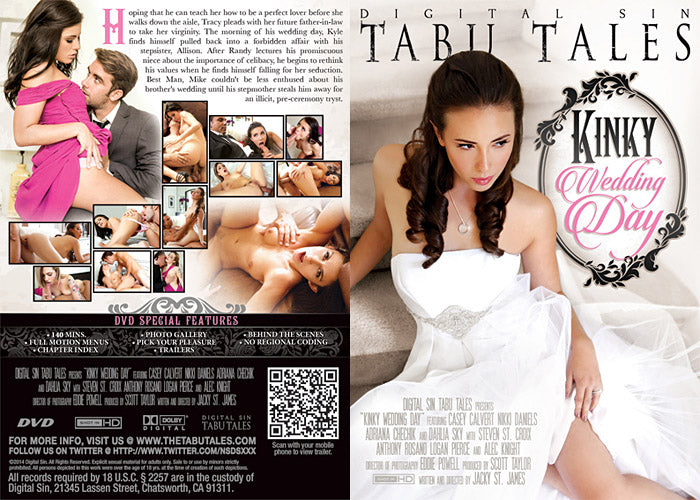 Kinky Wedding Day Tabu Tales (adriana chechik) Sealed DVD