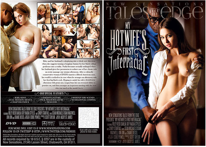 My Hotwife's First Interracial #1 - New Sensations Sealed DVD