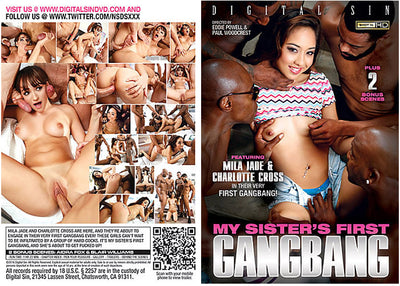 My Sister's First Gangbang 1 NSDS - Gangbang (gangbang) Sealed DVD