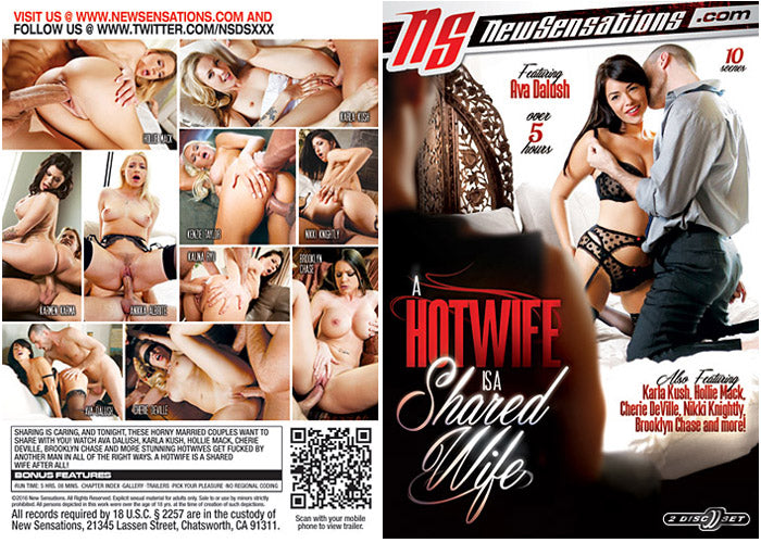 A Hotwife is a Shared Wife #1 - New Sensations Sealed 2 DVD Set