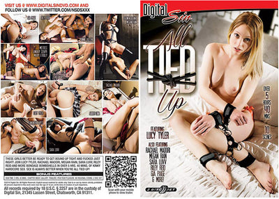 All Tied Up 1 (2 Disc Set) Digital Sin (riley reid) Sealed DVD