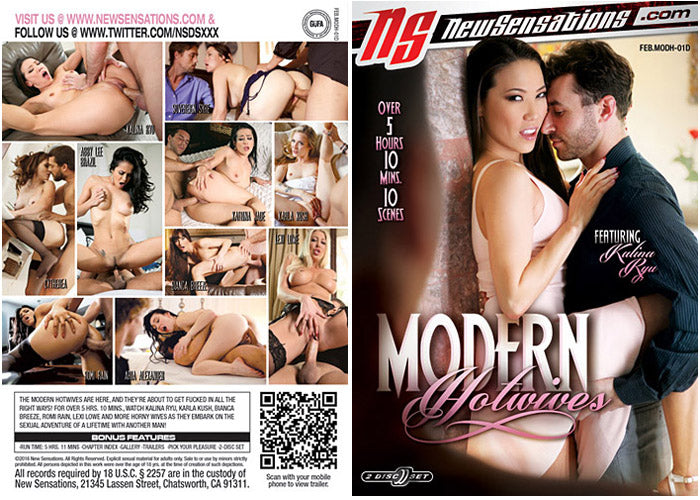 Modern Hotwives #1 - New Sensations Sealed 2 DVD Set