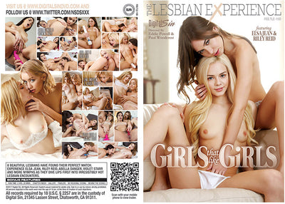 Girls That Like Girls, DS 2017 - Feature Sealed DVD