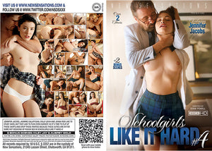 Schoolgirls Like It Hard 4 NS 2018 - Feature Sealed DVD