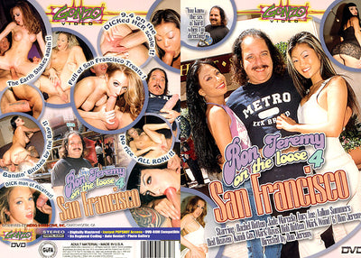 Ron Jeremy on the Loose #4 SF - Metro Sealed DVD