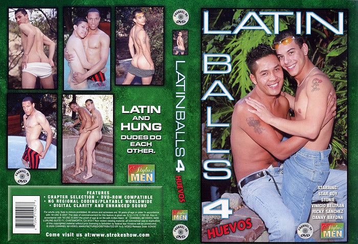 Latin Balls Huevos 4 Channel 69 - Gay Sealed DVD