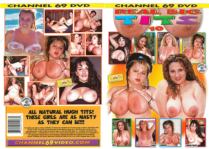 Real Big Tits 10, Channel 69 - Specialty Sealed DVD