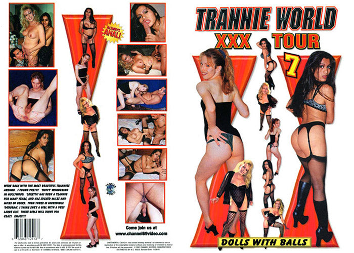 Trannie World XXX Tour 7 Channel 69 - Specialty Sealed DVD
