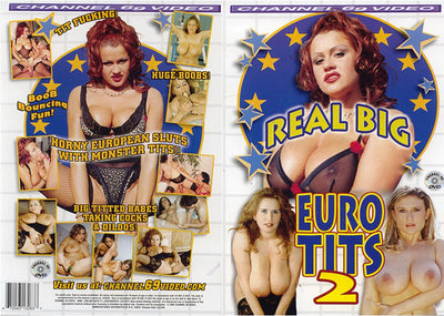Real Big Euro Tits 2, Channel 69 - Specialty Sealed DVD