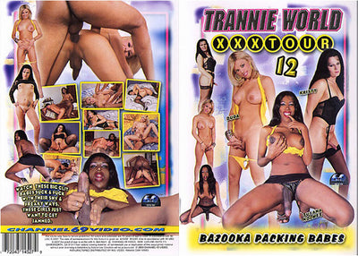 Trannie World XXX Tour 12, Channel 69 - Specialty Sealed DVD