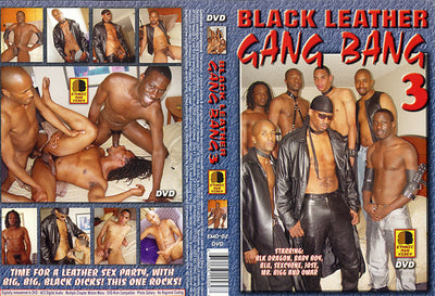 Black Leather Gang Bang 3 Channel 69 - Gay Sealed DVD
